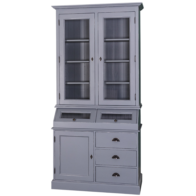 provinical zwei frontglast ren buffet 293 m bel international. Black Bedroom Furniture Sets. Home Design Ideas
