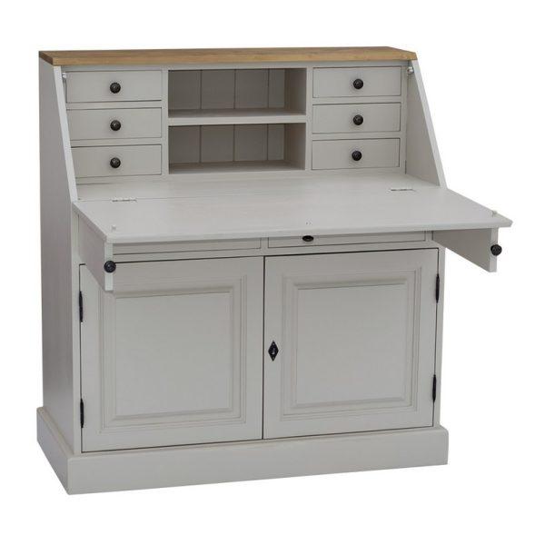 Büro, Schreibtisch, Schreibtischstuhl, Bücherregale, Schränke