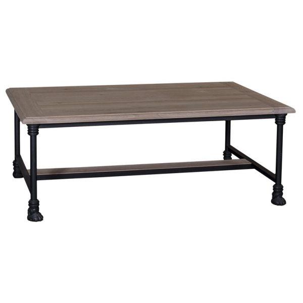 Loft #491 Iron Legged Coffee Table