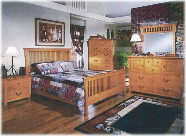 Kiefer Schlafzimmer