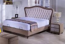 stoffierte Betten