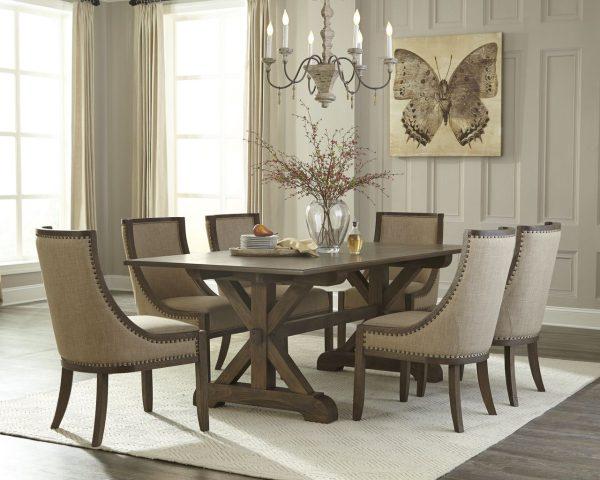 Chateau Tisch und 4 Stühle Set