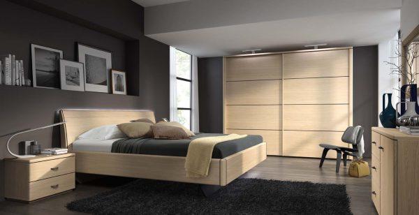 Moderne Schlafzimmer im Set