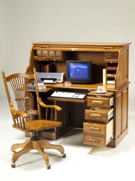 Schreibtische und Schreibtischstühle